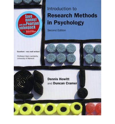 Introduction to Research Methods in Psychology: WITH Introduction to SPSS in Psychology, for Version 16 and Earlier AND Introduction to Statistics in Psychology