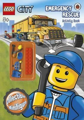 LEGO City: Emergency Rescue Activity Book with LEGO Minifigure