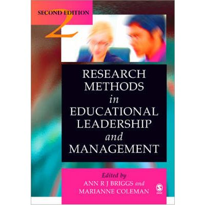 Areas of management research in educational