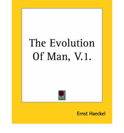 The Evolution Of Man, V.1.