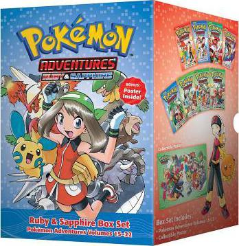 Pokemon Adventures Ruby & Sapphire Box Set: Volumes 15-22 : Includes Volumes 15-22