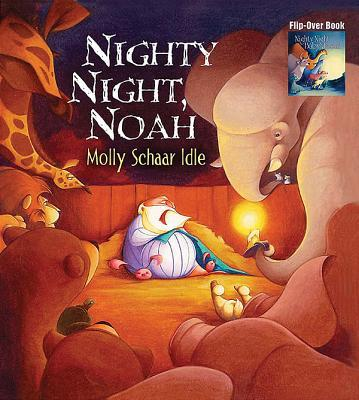 Nighty Night, Baby Jesus/Nighty Night, Noah Flip-Over Book