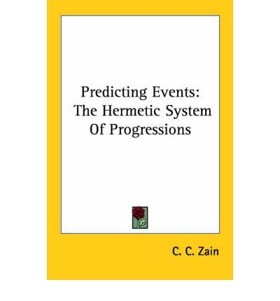 Predicting Events : The Hermetic System of Progressions