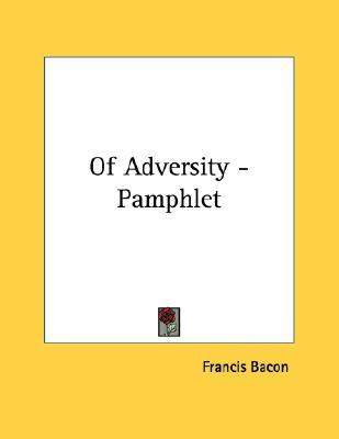 Francis bacon of adversity essay