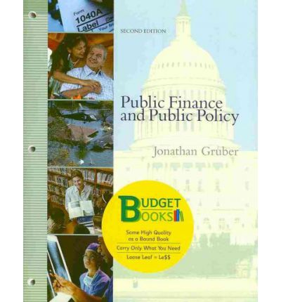 public finance and policy solution gruber essay