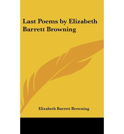elizabeth barrett browning poems pdf