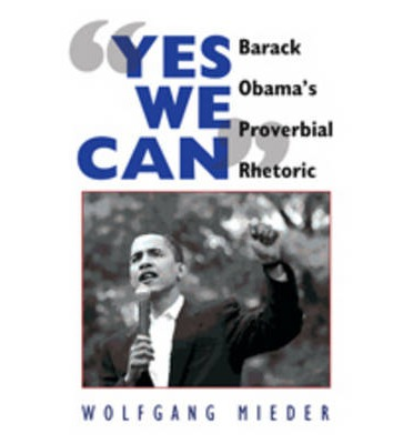 """the rhetoric of """"yes we can"""" Not only insights into obama's ingenuous rhetoric more than  election  campaign, yes, we can, which he brings in again here towards the end of the."""