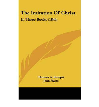 thomas a kempis imitation of christ pdf