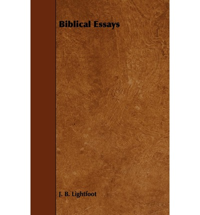 biblical essays When using scripture or biblical resources in an essay, there are several points to keep in mind the three main methods of reference citation, modern language.
