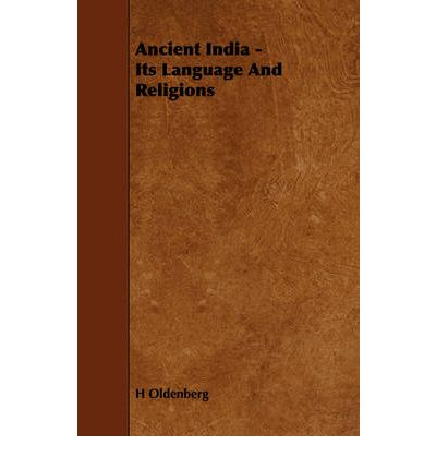 Ancient India - Its Language And Religions