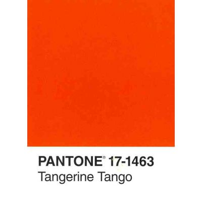 Pantone Tangerine Tango 2012 Color of the Year Journal 2012 2012