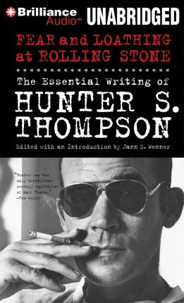 "HUNTER S.THOMPSON- ""THE GREAT SHARK HUNT."" Volume 1 of the infamous ..."