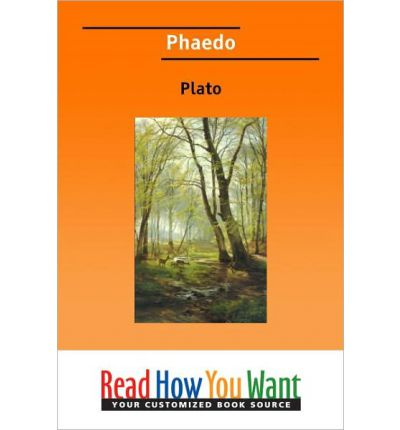critical analysis on platos phaedo The phaedrus (/ f i d r s / ancient greek: , lit 'phaidros'), written by plato, is a dialogue between plato's protagonist, socrates, and phaedrus, an interlocutor in several dialogues.