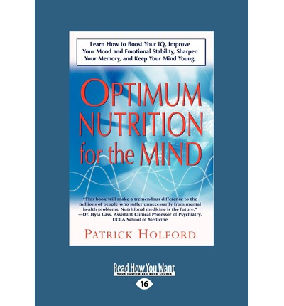 New Optimum Nutrition for the Mind: Parts 6-8 v. 2