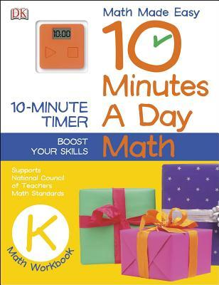 10 Minutes a Day: Math, Kindergarten