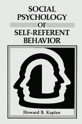 Descargar audiolibros gratis para ipod touch Social Psychology of Self-Referent Behavior by Howard B Kaplan en español PDF iBook PDB