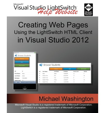 Creating Web Pages Using the Lightswitch HTML Client : In Visual Studio 2012