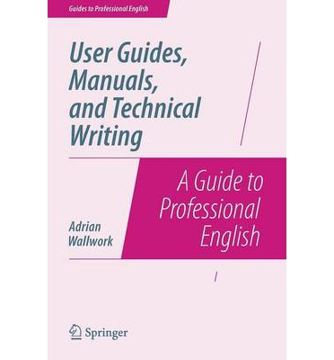 technical writing manuals Ing a paper, because it is very possible that a technical person will write pa-pers throughout his or her career another category of technical writing is for manuals.