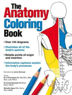 Complete Anatomy Coloring Book : Dr. C. R. Constant : 9781504800501