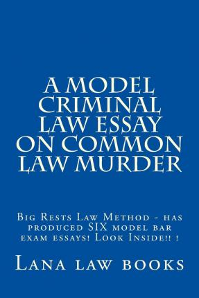 law essays common law Unlike most editing & proofreading services, we edit for everything: grammar, spelling, punctuation, idea flow, sentence structure, & more get started now.