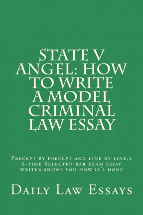 english criminal law essays The given case is concerned with the law on homicide in english criminal law or criminal case and access to law law within this essay i will.