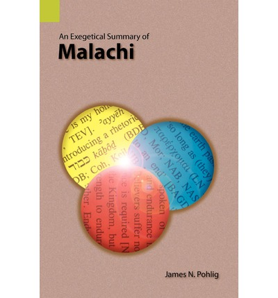 Notes on malachi