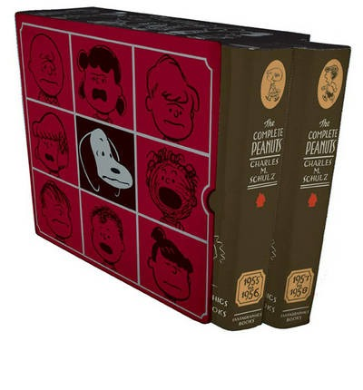 The Complete Peanuts Box Set Volumes 3 & 4: 1955-1958