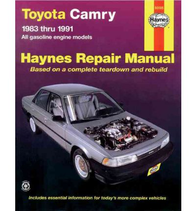 toyota camry automotive repair manual j h haynes 9781563920301. Black Bedroom Furniture Sets. Home Design Ideas