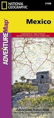 Mexico : Travel Maps International Adventure Map