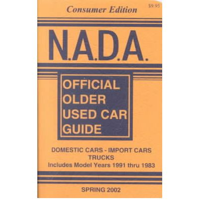 National Automobile Dealers Association Nada Official Used Car Guide