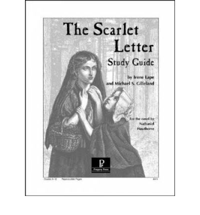 scarlet letter study guide paperback literature study guides from ...