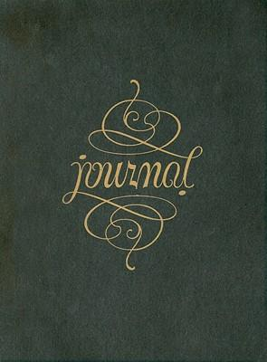 Leather Journal Ambigram