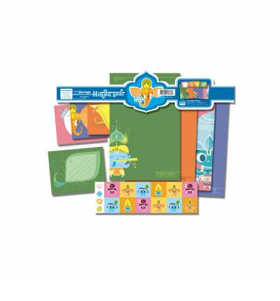 Sanjay Patel Gods Stationery Set
