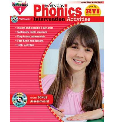Everyday Phonics Intervention Activities Grade 4 New!