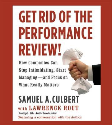 get rid of performance reviews book