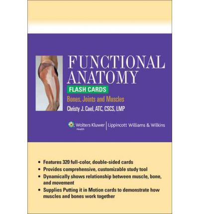 Functional Anatomy Flash Cards : Bones, Joints and Muscles