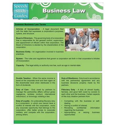 business study guide Access study guide for cross/miller's the legal environment of business 8th  edition solutions now our solutions are written by chegg experts so you can be .