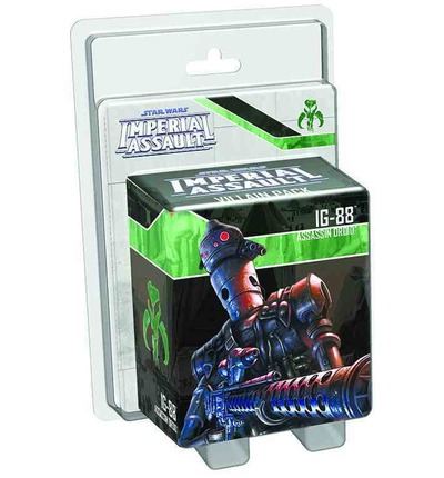 Star Wars: Imperial Assault IG-88 Villain Pack