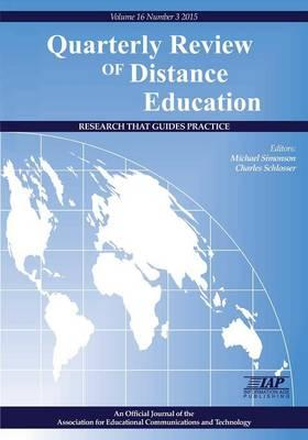 Quarterly Review of Distance Education : Volume 16, Number 3, 2015