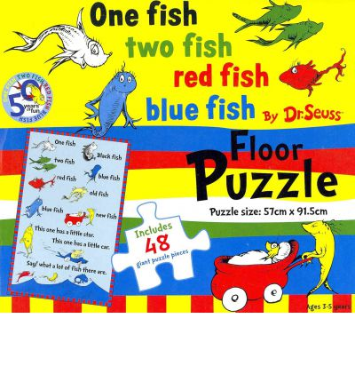 One fish two fish red fish blue fish 9781742119571 for Red fish blue fish book