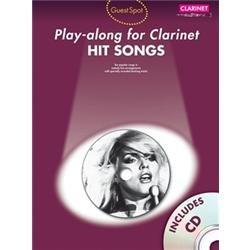 Guest Spot : Hit Songs - Play-along for Clarinet