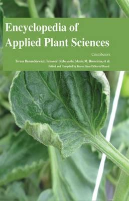 Encyclopedia of Applied Plant Sciences (3 Volumes)