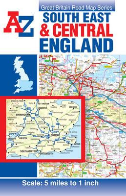 Nuovo download gratuito di ebook South East & Central England Road Map PDF iBook