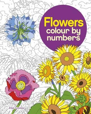 Colour by Number : Flowers
