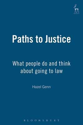 hazel genn Judging civil justice (the hamlyn lectures) [hazel genn] on amazoncom free shipping on qualifying offers the civil justice system supports social order and.