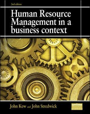 hrm in business context The importance of human resource management  strategic sustainability is associated with significant business benefits as well as positive  in the context of .
