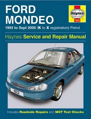 Ford Mondeo Service and Repair Manual : 1993 to Sept 2000 (K to X Reg)