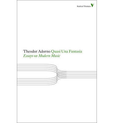 apparitions essays on adorno and twentieth-century music