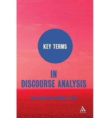 discourse analysis vocabulary Lexical discourse analysis in translation the questions were related to the challenges the translators encountered which include vocabulary size chapelle.