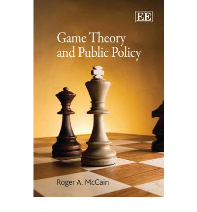 game theory model in public policy The dynamics of public policy theory and evidence adrian kay the dynamics of public policy theory and evidence  dynamic analysis refers to models in which time is an independent variable would be recognized by students of economics however, this limited  game theory on 'memory' and 'expectation' in repeated games.